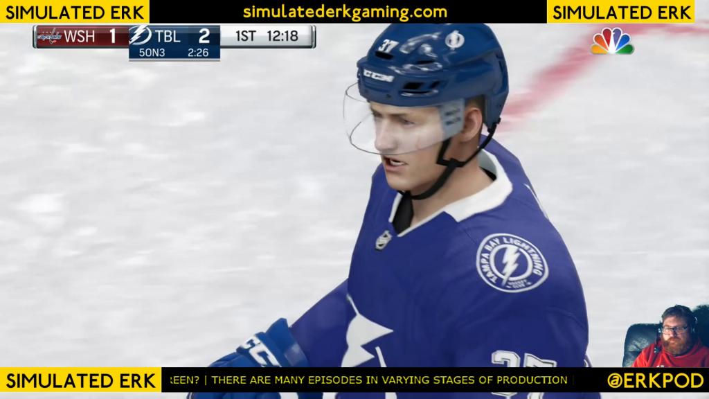 Simulated Erk: NHL Game Day episode 3 | Capitals v Lightning