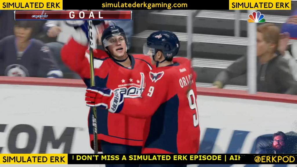 Simulated Erk: NHL Goal Day episode 2 | Capitals v Golden Knights, Lightning & Jets