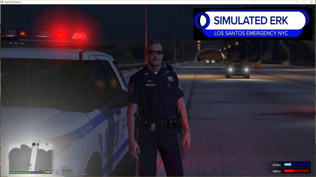 Simulated Erk: Los Santos Emergency Blue episode 49   Highway Patrol