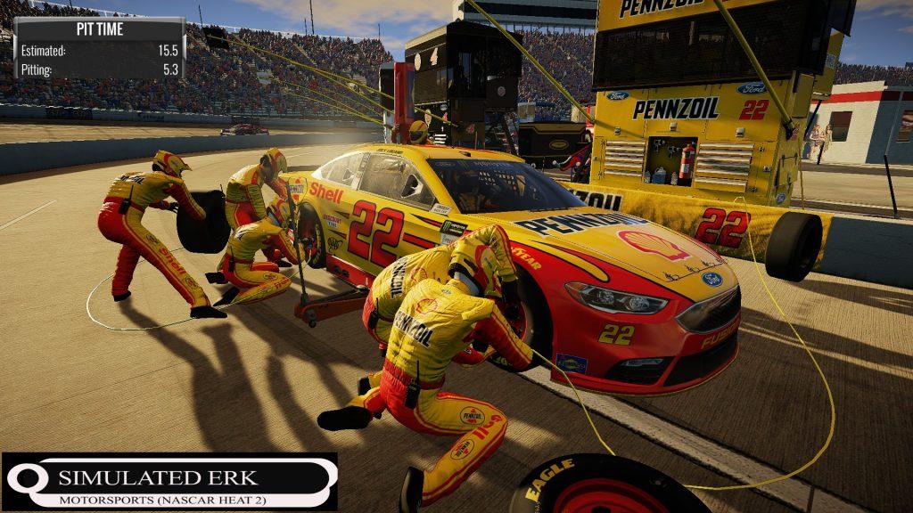 Simulated Erk: NASCAR Heat 2 episode 1 | Championship Races 1 – 5