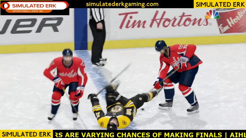 Simulated Erk: NHL Gameday episode 8 | Capitals v Bruins