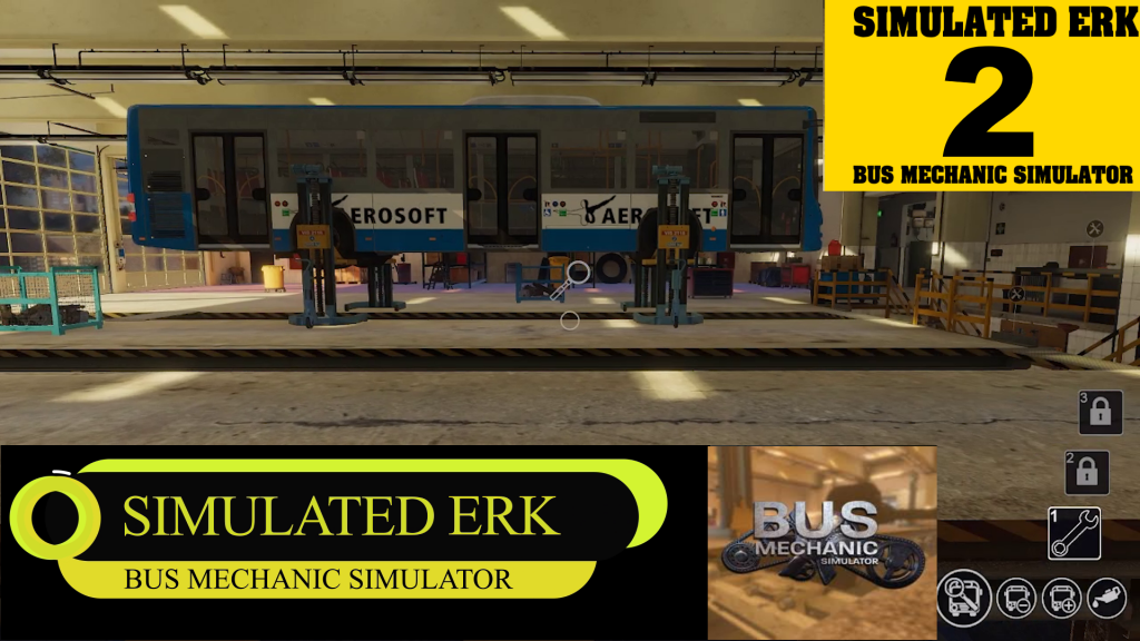 Simulated Erk: Bus Mechanic Simulator episode 2 | Simulated Mechanic, Real Headache