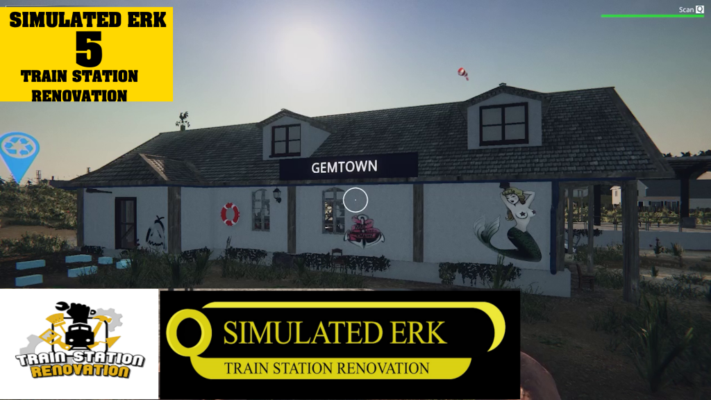 Simulated Erk: Train Station Renovation episode 5 | Coastal Renovation