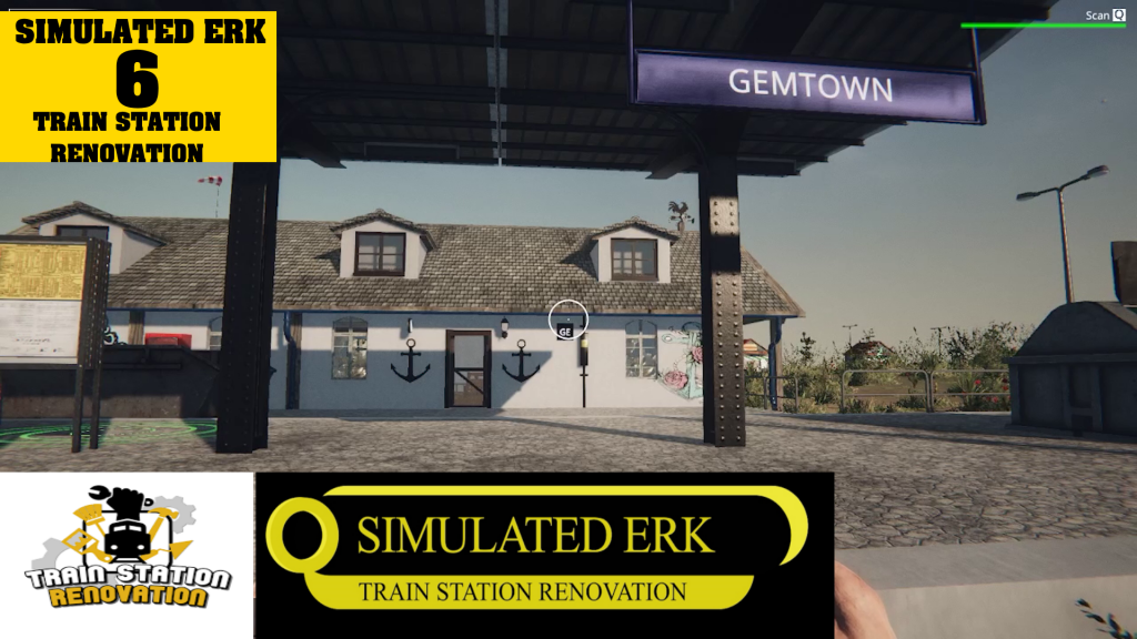 Simulated Erk: Train Station Renovation episode 6 | Does The Mermaid Have To Go?