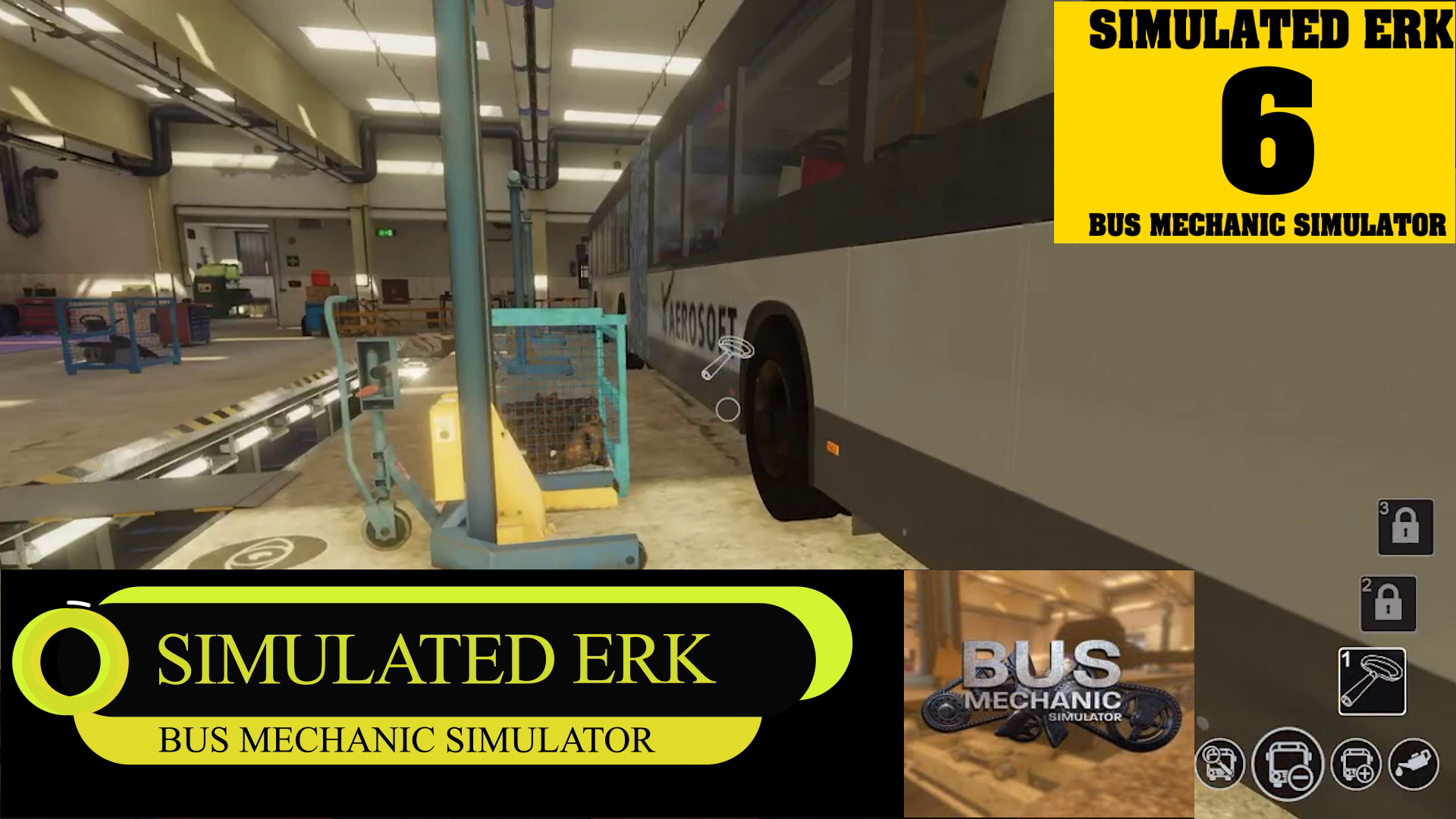 Simulated Erk: Bus Mechanic Simulator episode 6   You've Got To Keep It Articulated!