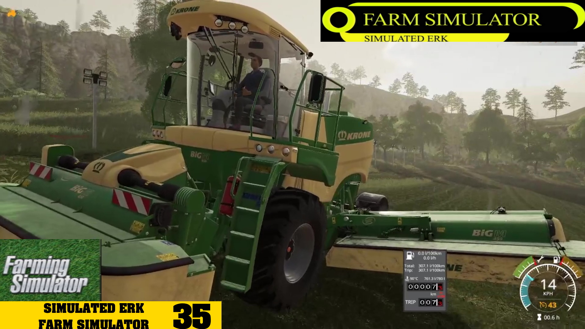 Simulated Erk: Farm Simulator episode 35   Getting On The Grass
