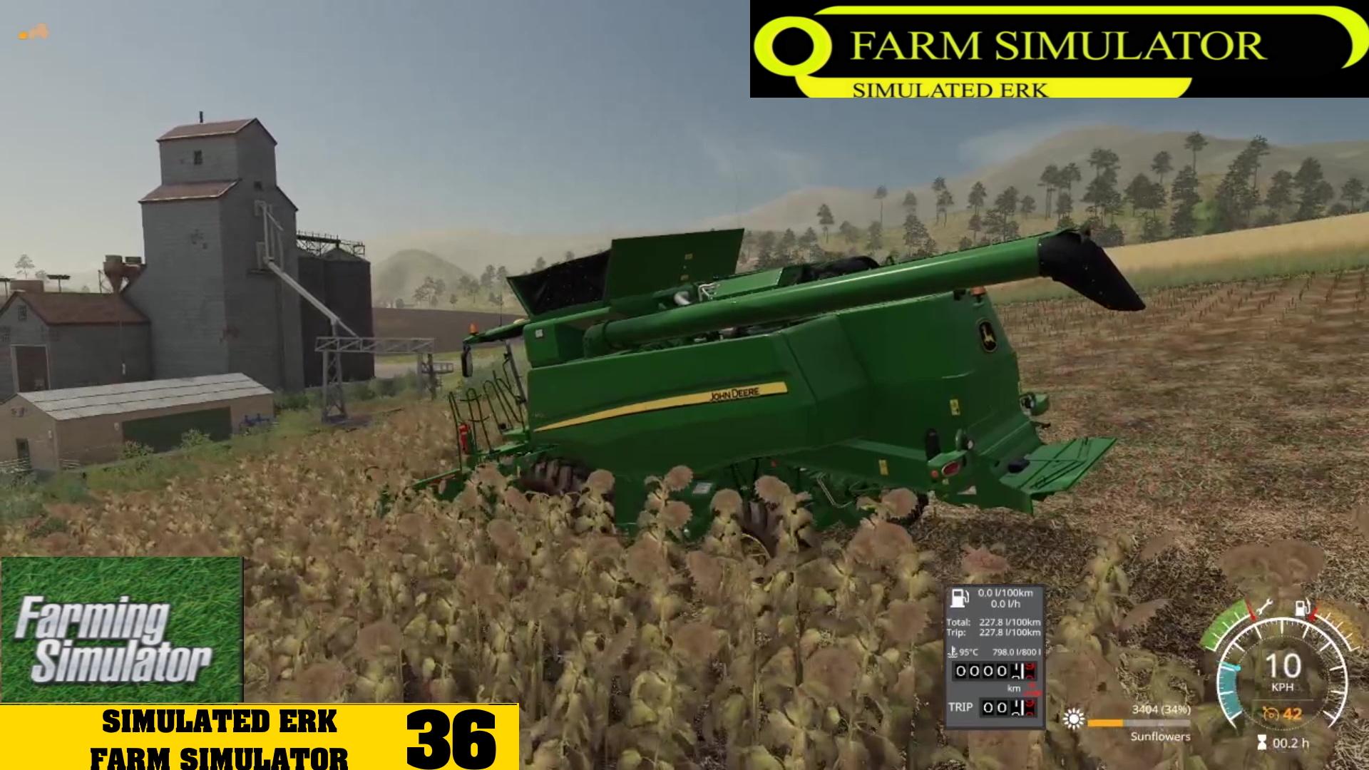 Simulated Erk: Farm Simulator episode 36   Grass Grass Everywhere