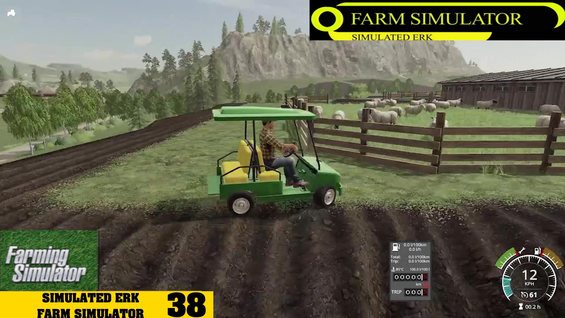Simulated Erk: Farm Simulator episode 38   Showcasing The Farm