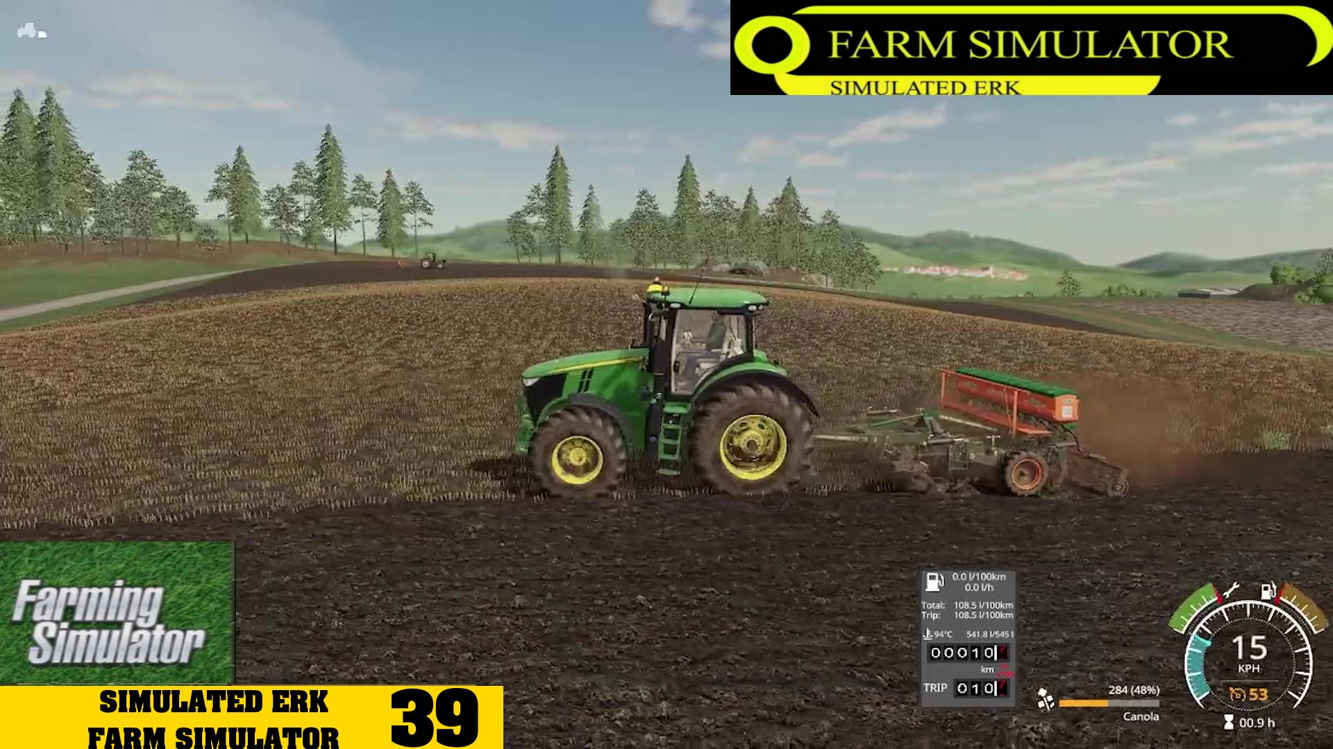 Simulated Erk: Farm Simulator episode 39   Rebuilding The Farm Like A Millennial