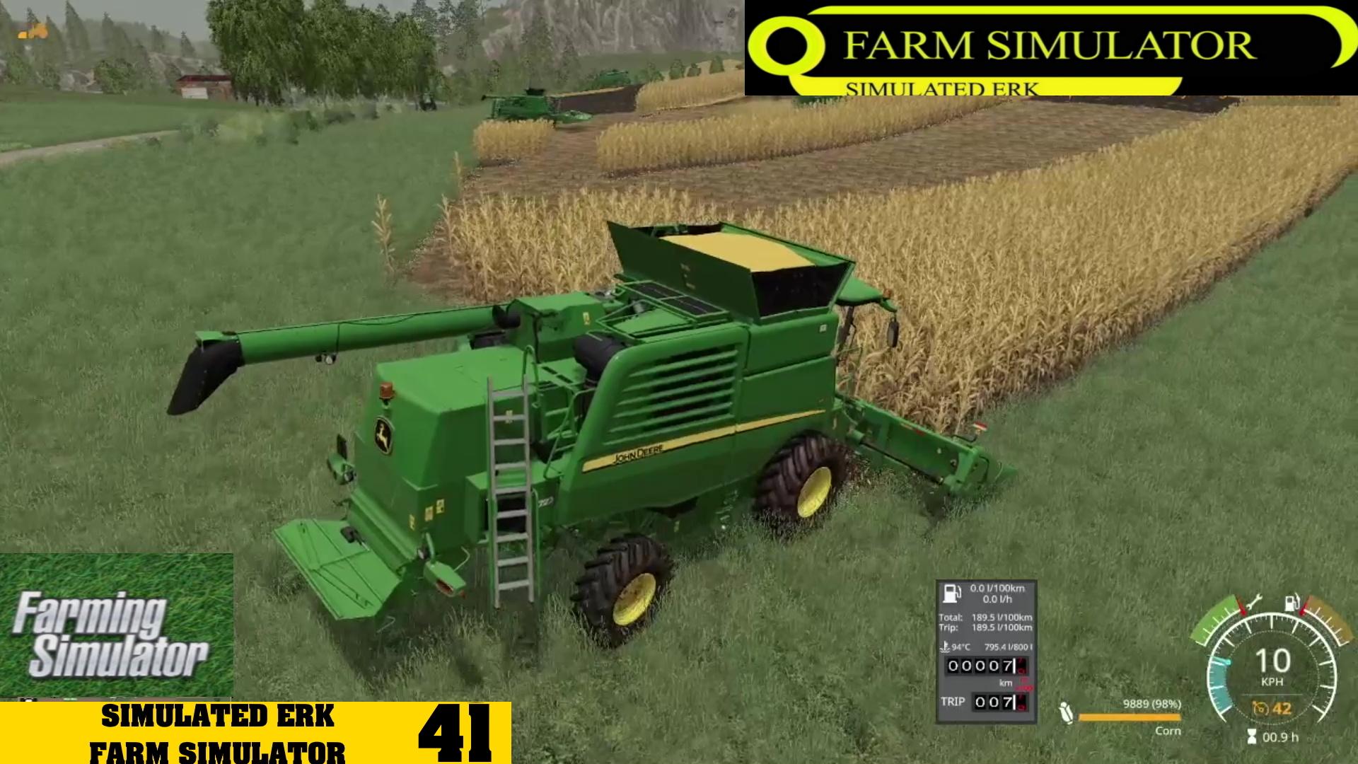 Simulated Erk: Farm Simulator episode 41   Getting The Harvest On