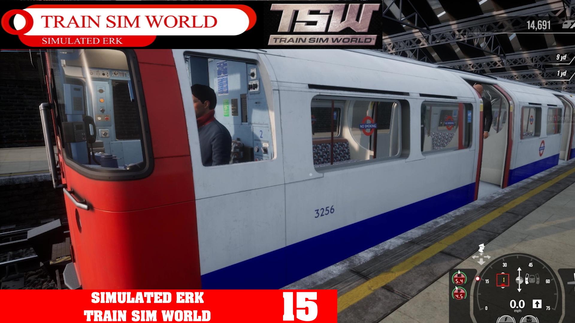Simulated Erk: Train Sim World episode 15   Bakerloo Line First Look