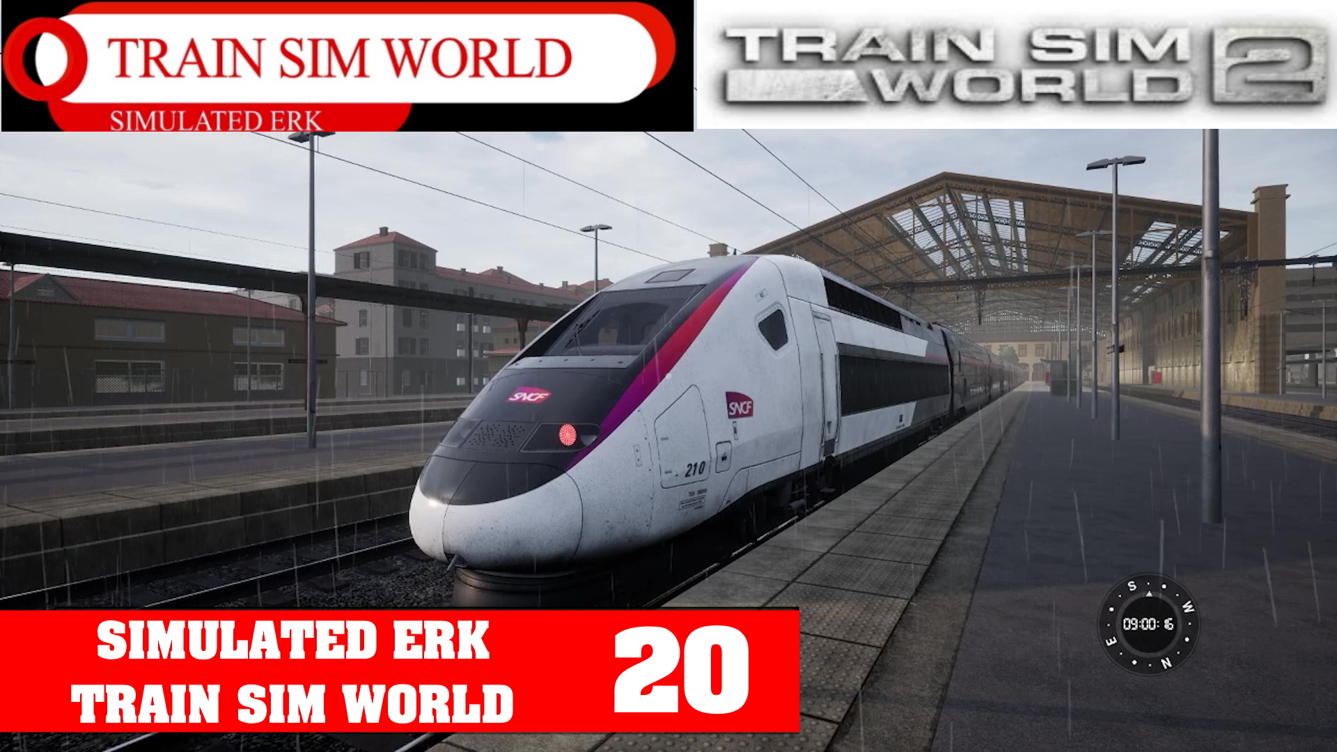 Simulated Erk: Train Sim World episode 20 | Going High Speed In The French Countryside