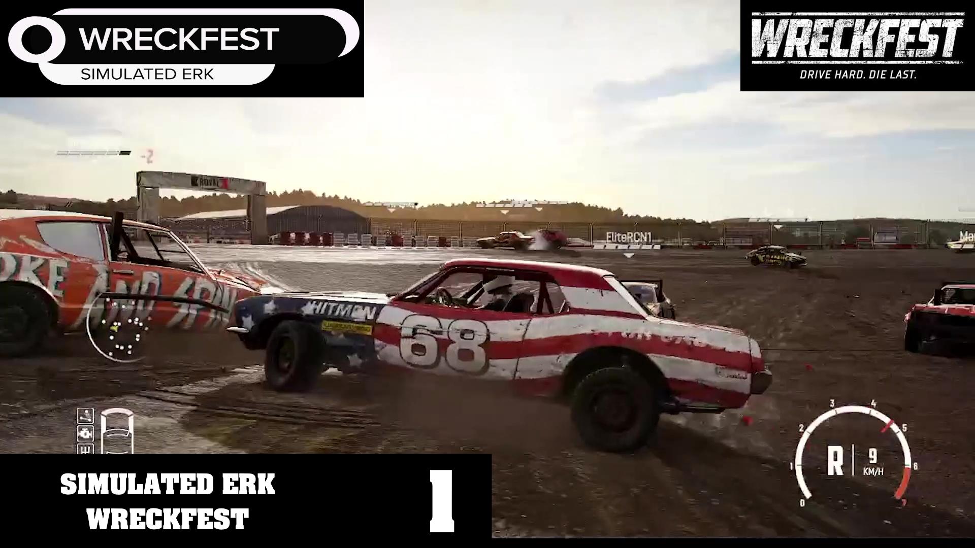 Simulated Erk: Wreckfest episode 1 | Simulated Erk The Rookie