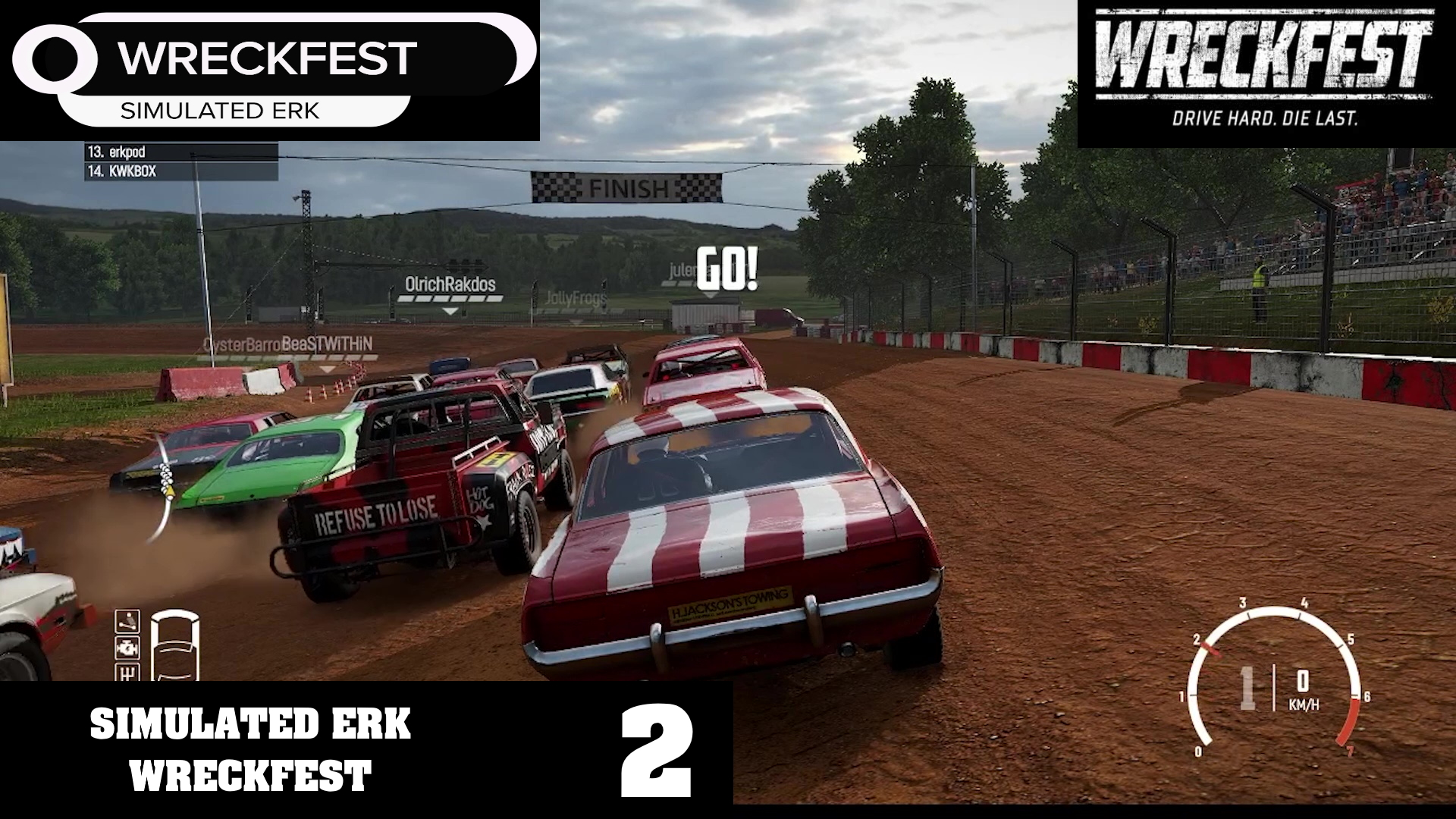 Simulated Erk: Wreckfest episode 2 | Getting It Done On The Dirt