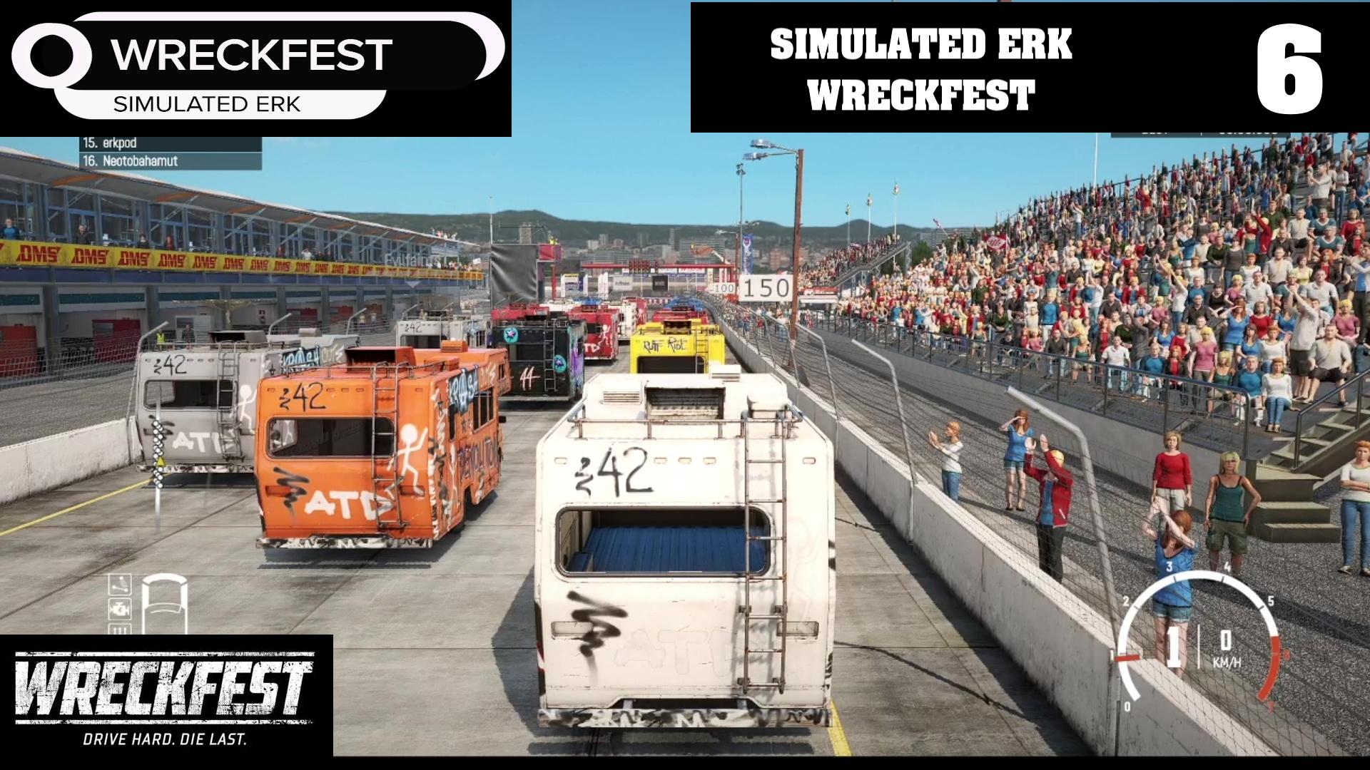 Simulated Erk: Wreckfest episode 6 | Where Motorhomes Go To Die