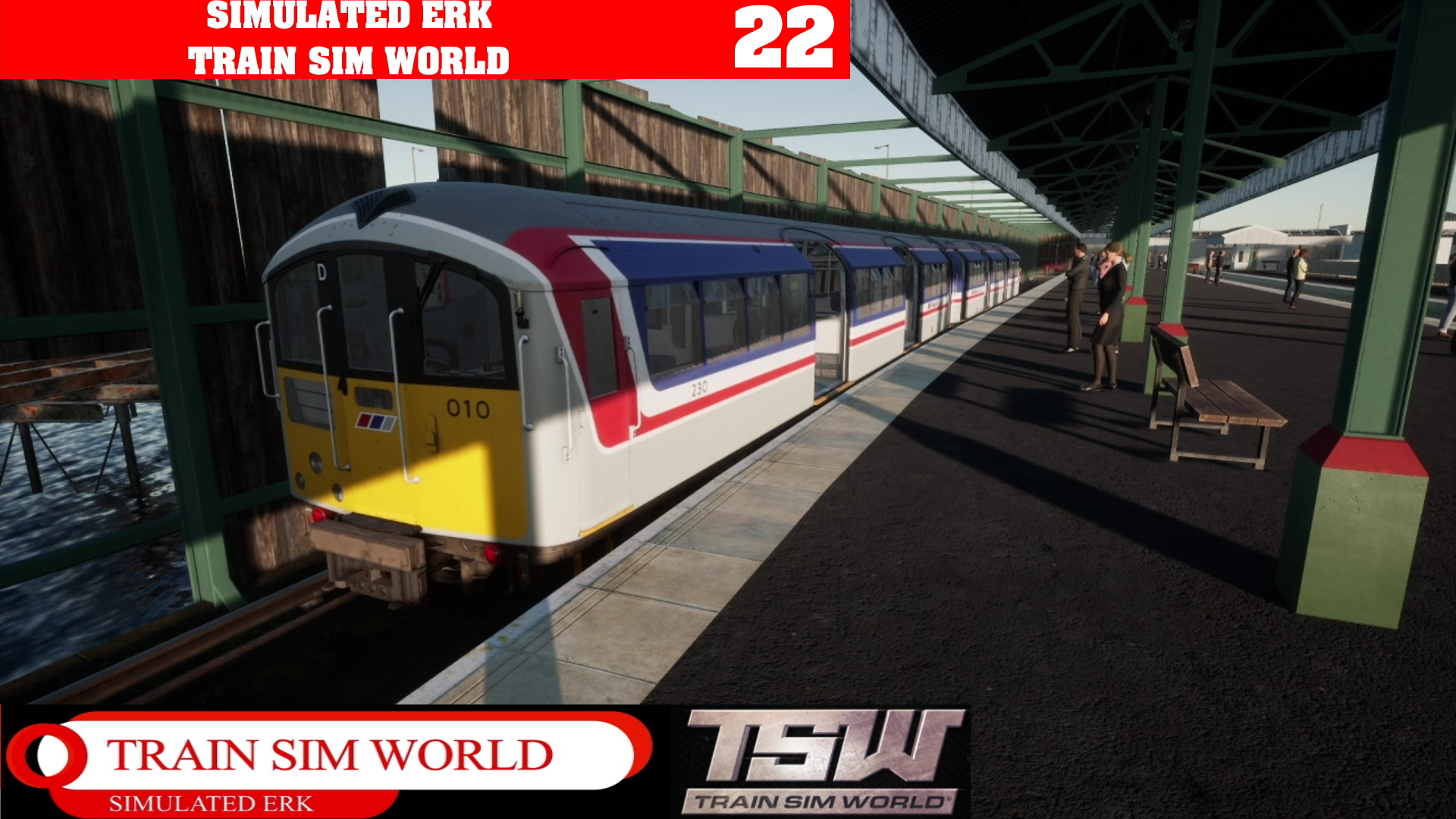 Simulated Erk: Train Sim World episode 22 | Welcome Back To The Isle